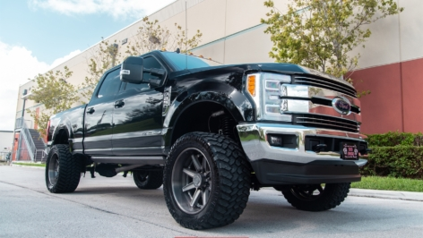 FORD F-250 ON HRE HD188