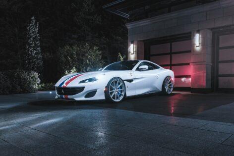 Ferrari Portofino on HRE P104SC