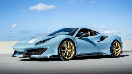 Ferrari 488 Pista on HRE P101