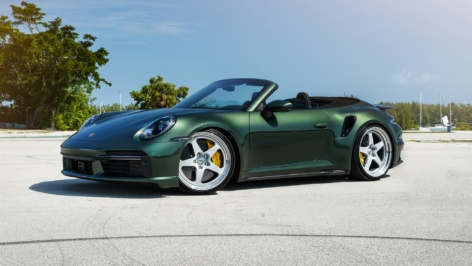Porsche 992 Turbo S Cabriolet on HRE 527S