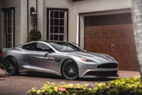 Aston Martin Vanquish on HRE P103