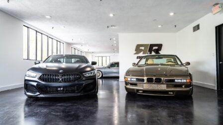 BMW G15 M850i on HRE P101 & Renner Projekt 8 (E31) on HRE Vintage 501