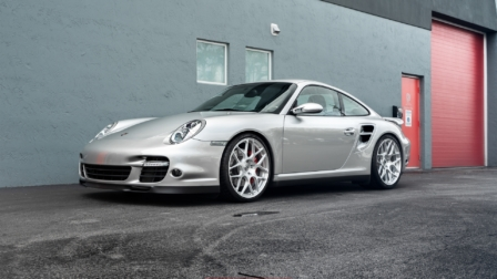 Porsche 997.1 Turbo on HRE P40SC