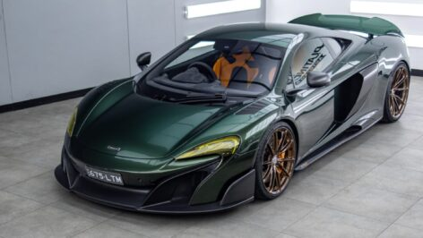 McLaren 675LT on HRE P104SC