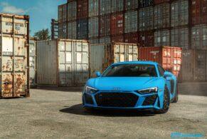 Audi MK2 R8 on HRE 540C