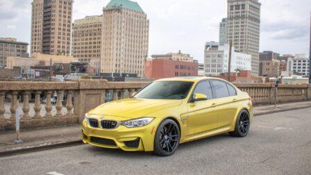 BMW F80 M3 on HRE FF04