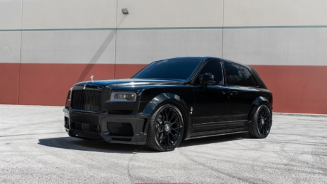 Rolls-Royce Cullinan on Novitec Wheels