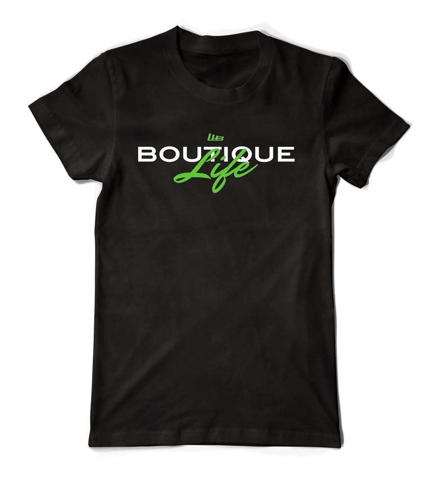 """""""Boutique Life"""" Tee Crew Neck"""