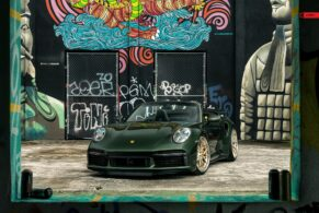 Porsche 992 Turbo S Cabriolet on ANRKY S3-X1