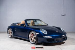 Porsche 997.1 Carrera S Cabriolet on HRE C106
