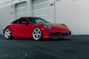 Porsche 992 Carrera S on HRE 527S