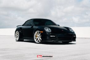 Porsche 997.1 Turbo Cabriolet on HRE P101SC