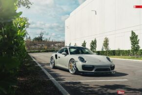 Porsche 991.2 Turbo S on ANRKY AN12