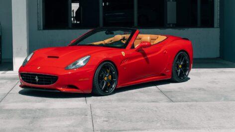 Ferrari California on HRE P101