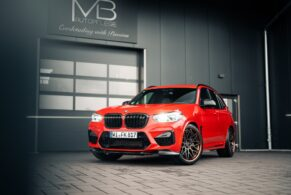 BMW F97 X3M Competition on Rotiform LVS-M