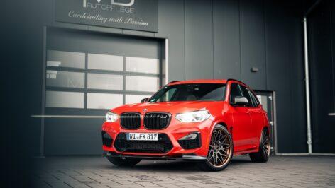 BMW F97 X3M Competition on Rotiform LVS-M