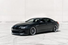 BMW F06 M6 Gran Coupe on HRE Classic 300
