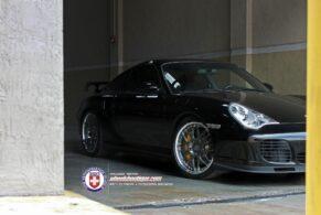 Porsche 996 Turbo S on HRE 590RS