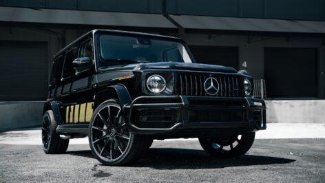"Mercedes-Benz W463A G63 AMG on Brabus Monoblock Z ""Platinum Edition"""