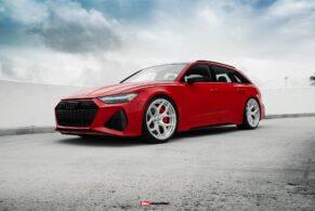 Audi RS6 Avant on HRE S111SC