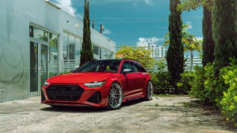 Audi RS6 Avant on ANRKY S3-X1