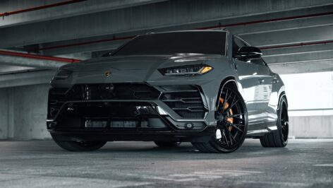 Lamborghini Urus on ANRKY S3-X5