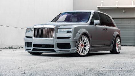 Rolls-Royce Cullinan Novitec Spofec Overdose Widebody