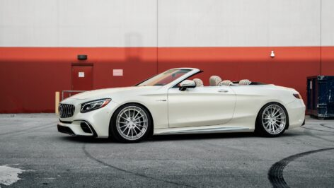 Mercedes-Benz W222 S63 AMG Convertible on ANRKY AN39