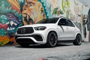 Mercedes-Benz GLE63S AMG SUV on HRE S101