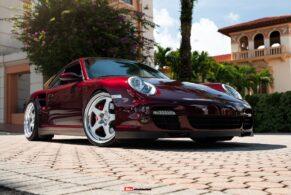 Porsche 997.1 Turbo on HRE 527S